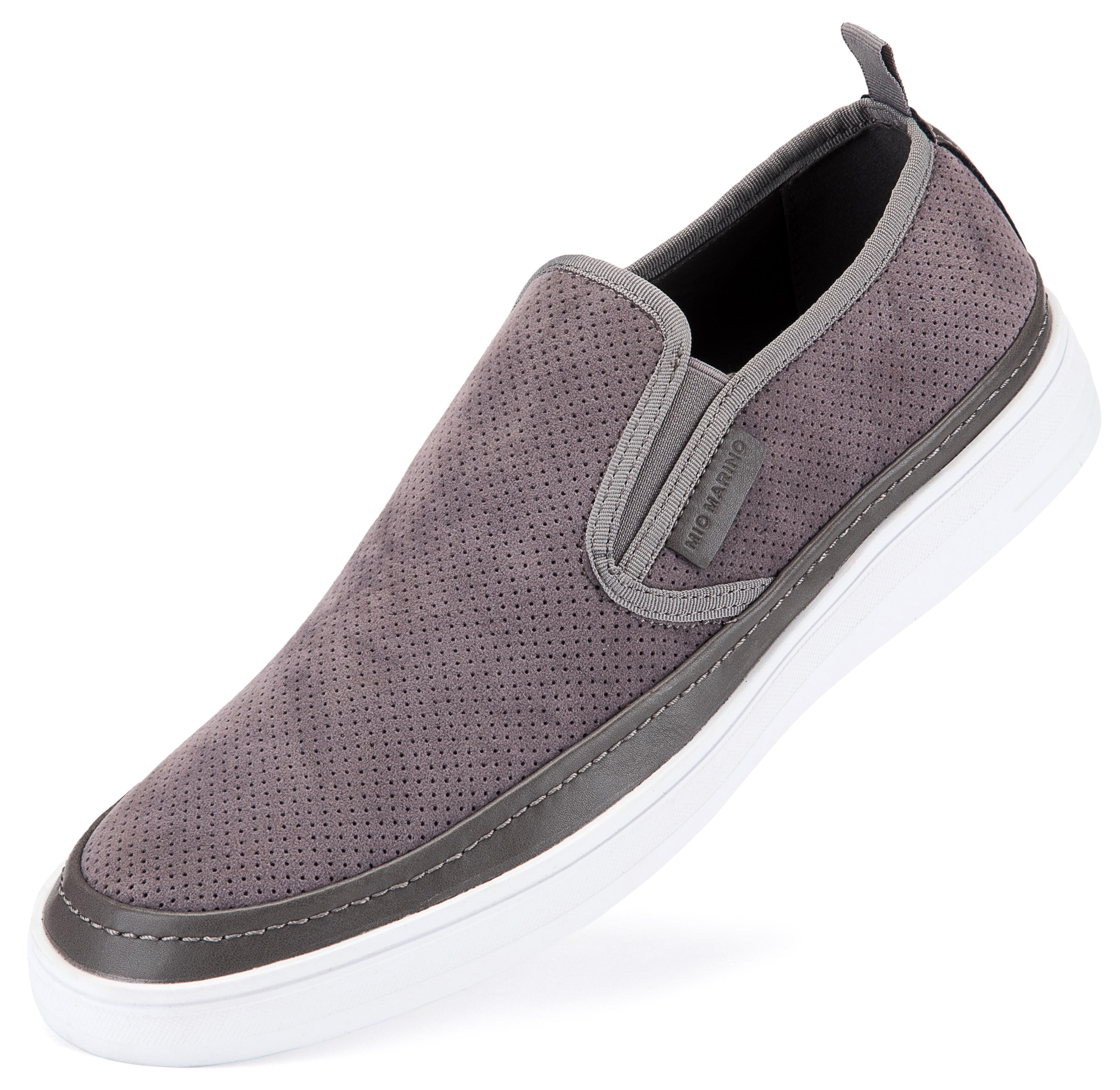 Suede Fashion Sneaker Shale | Trada Marketplace