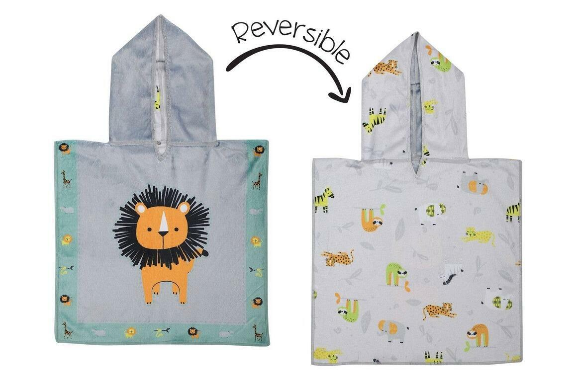 Baby UPF50+ Cover-Up - Lion/Zoo | Trada Marketplace