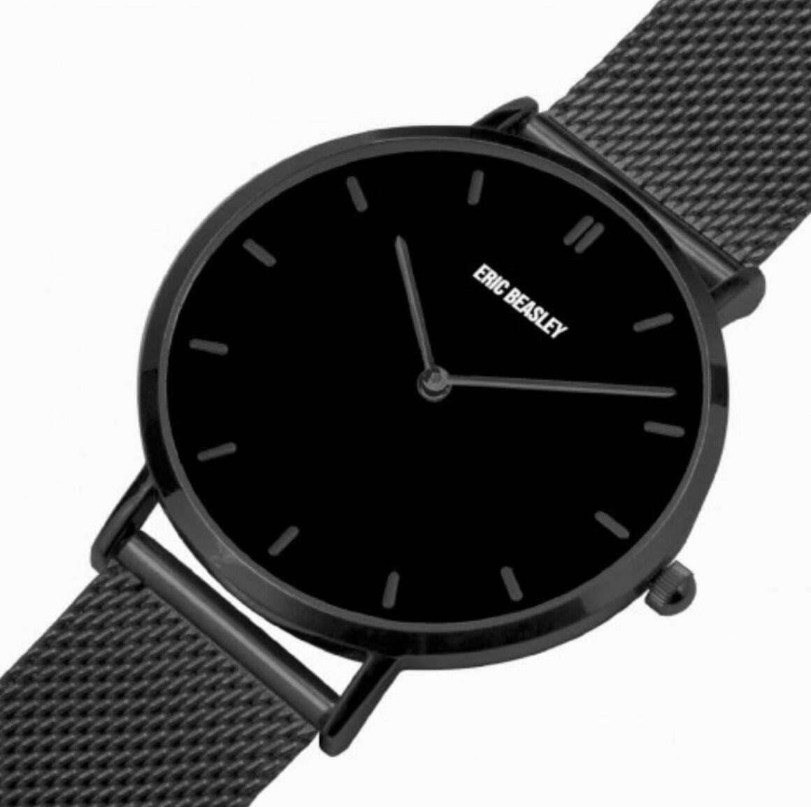 Black Original Ultra Thin Quartz Watch | Trada Marketplace