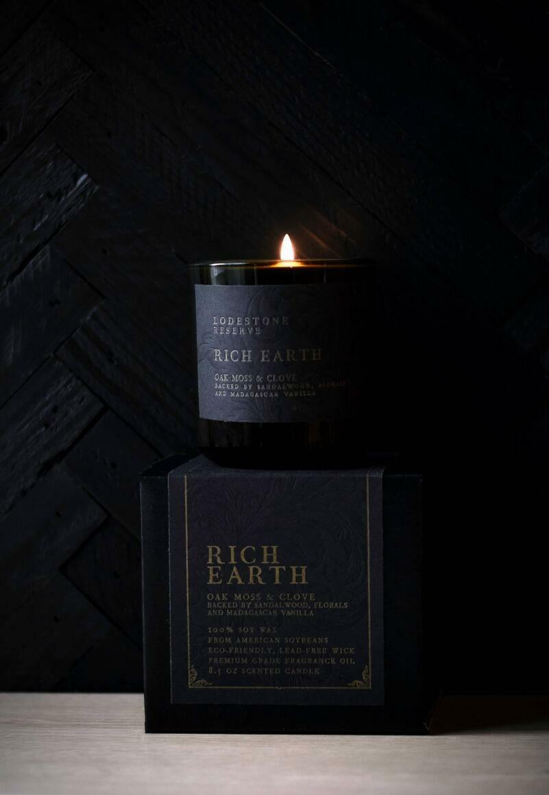 Rich Earth Candle   Trada Marketplace