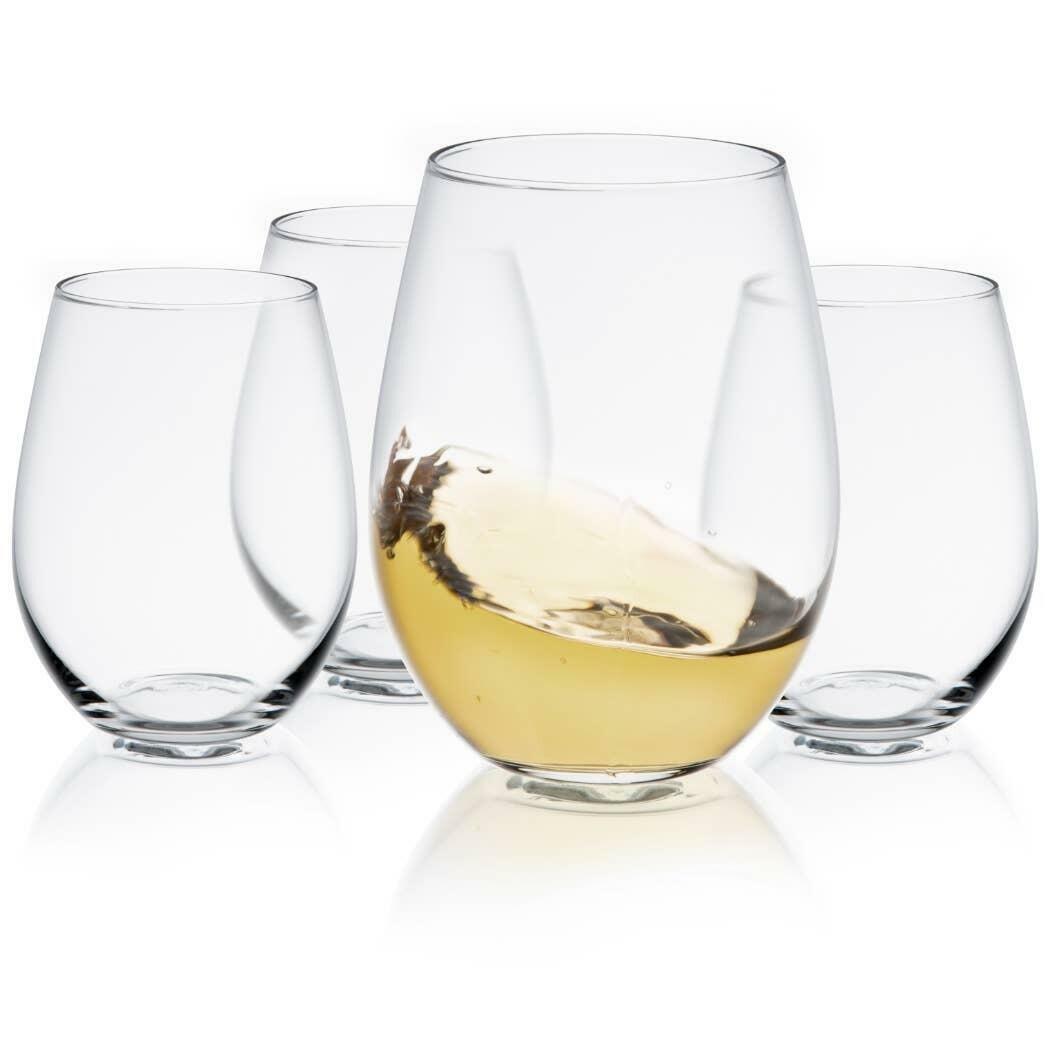 Spirits Stemless Wine Glass 20 oz (Set of 4) | Trada Marketplace