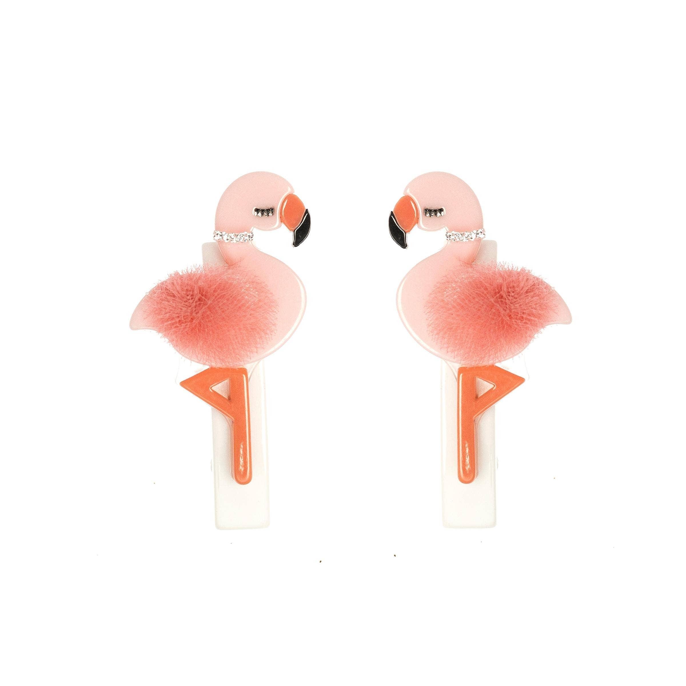 Flamingo Alligator Clips   Trada Marketplace