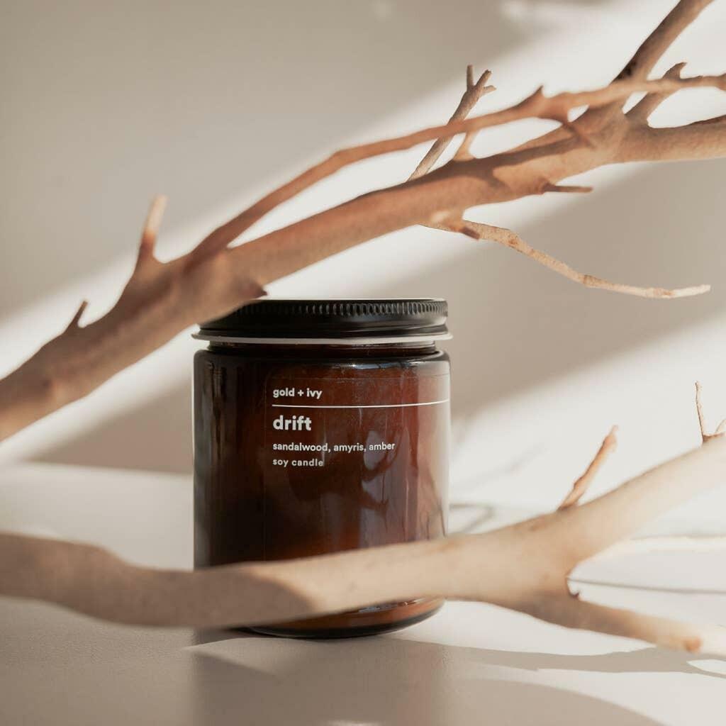 drift soy candle - standard | Trada Marketplace