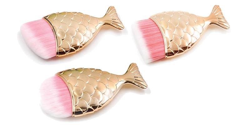 Mermaid Tail Fish Brush set    Trada Marketplace