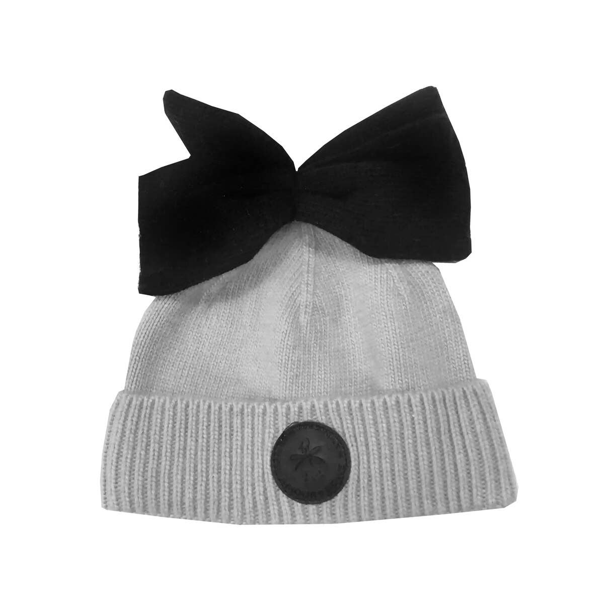 Bow Hat - Grey | Trada Marketplace