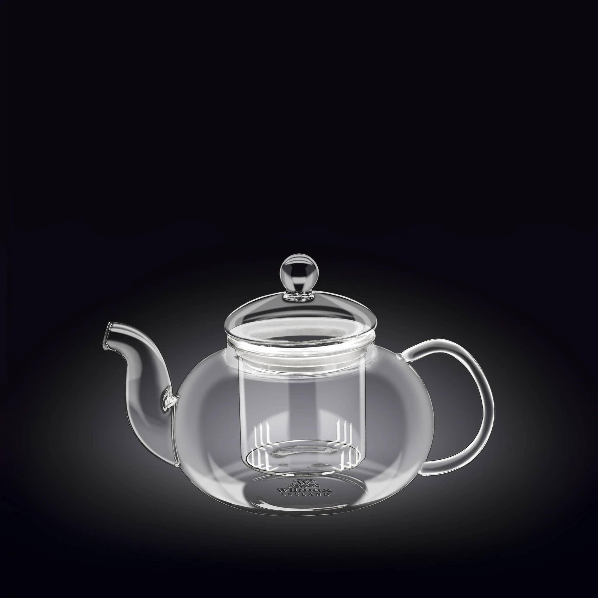 20 Fl oz Thermo Glass Tea Pot - WL-888812 / A   Trada Marketplace