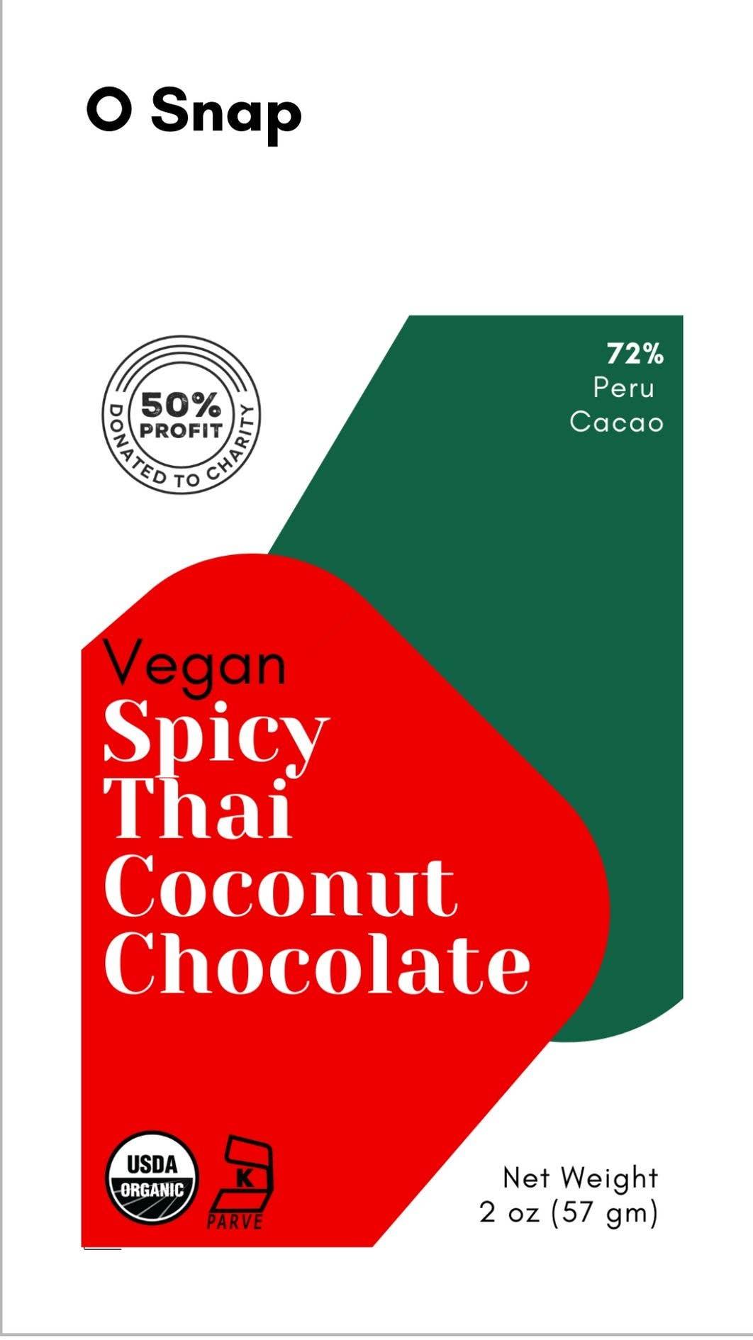 Vegan Spicy Thai Coconut Chocolate | Trada Marketplace