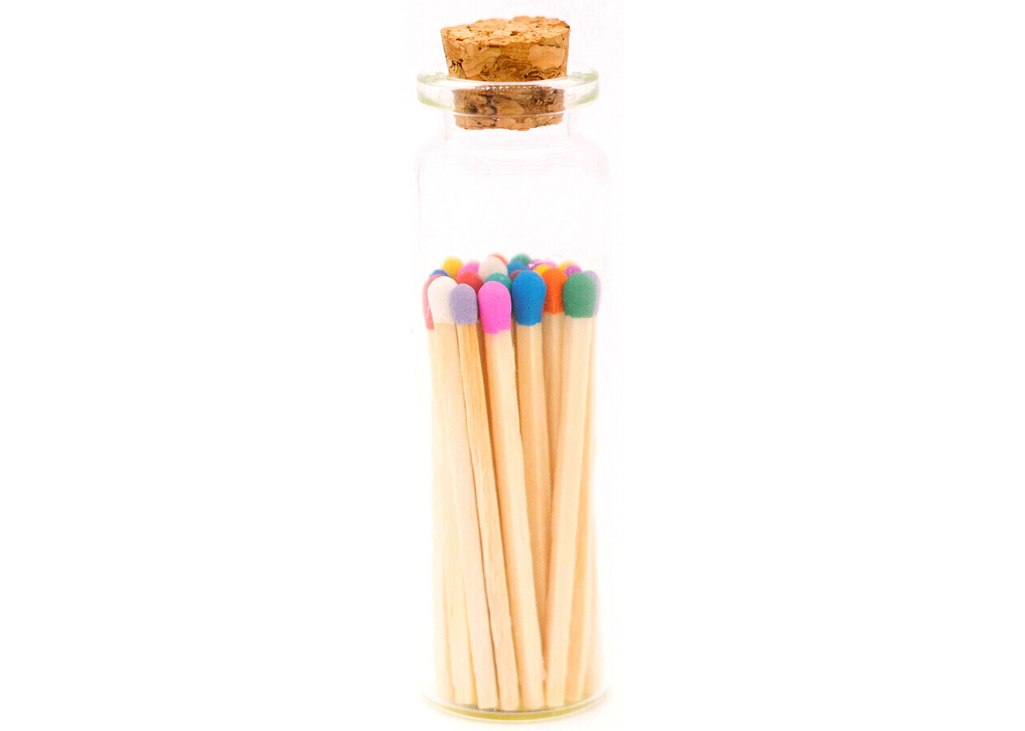 1.85in Multicolor Decorative Matches In Jar with striker   Trada Marketplace