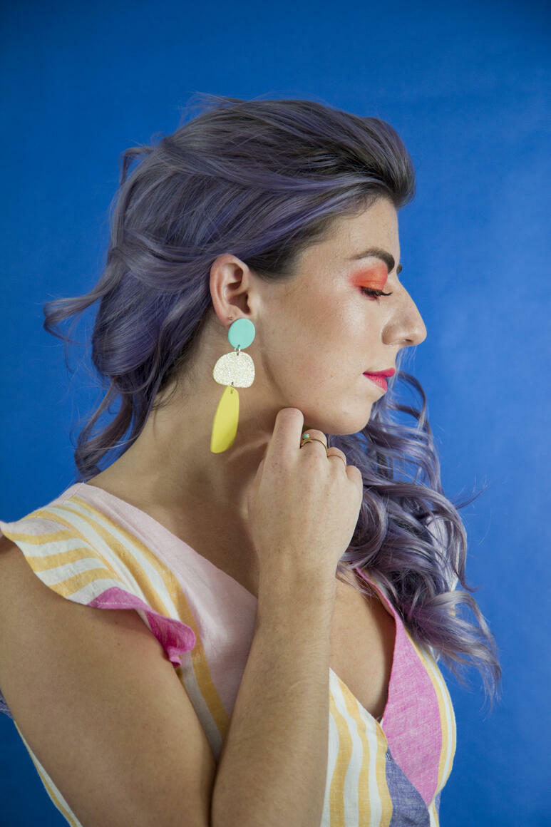 Bronze Babe Earrings | Trada Marketplace
