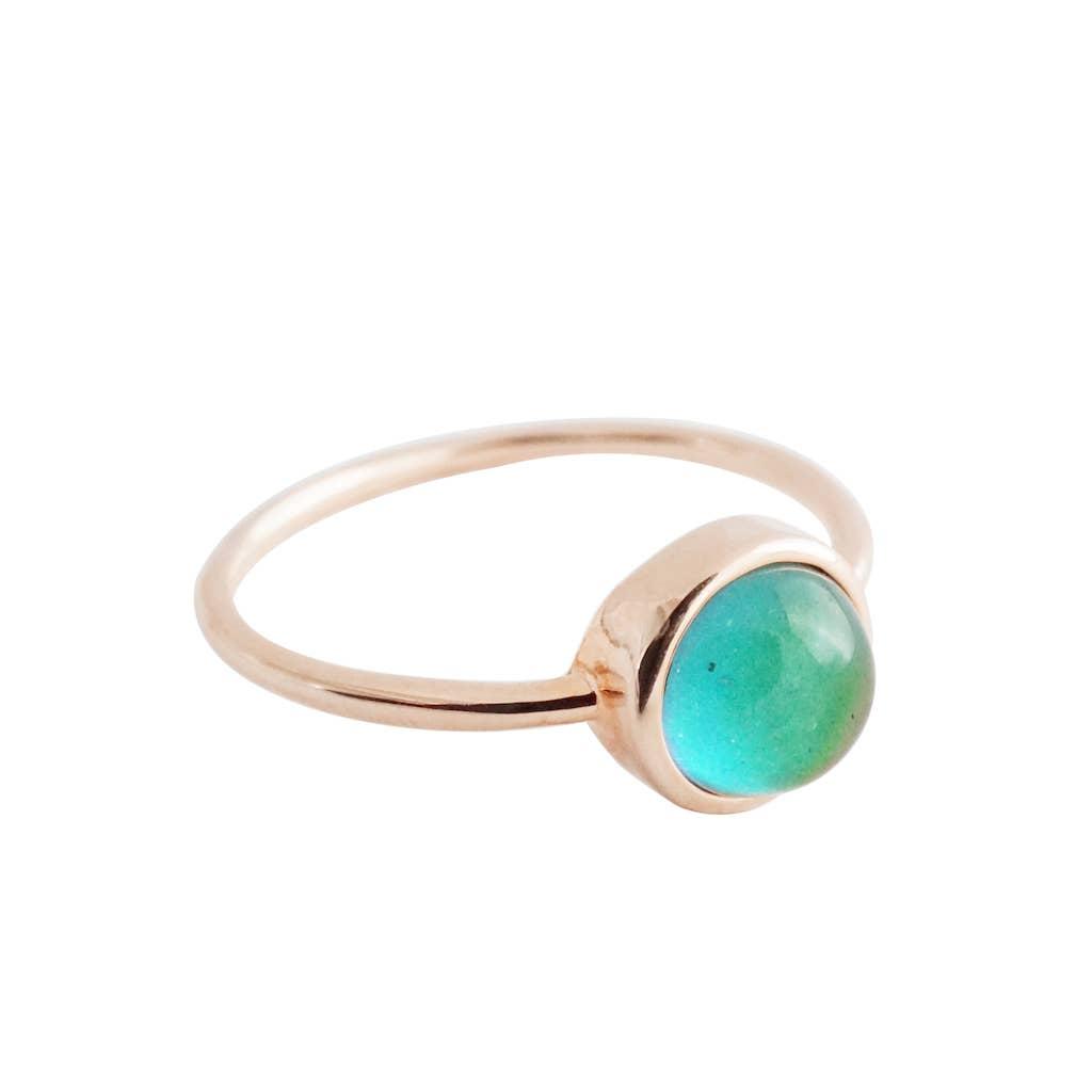 Rose Gold - Mini Mood Ring   Trada Marketplace