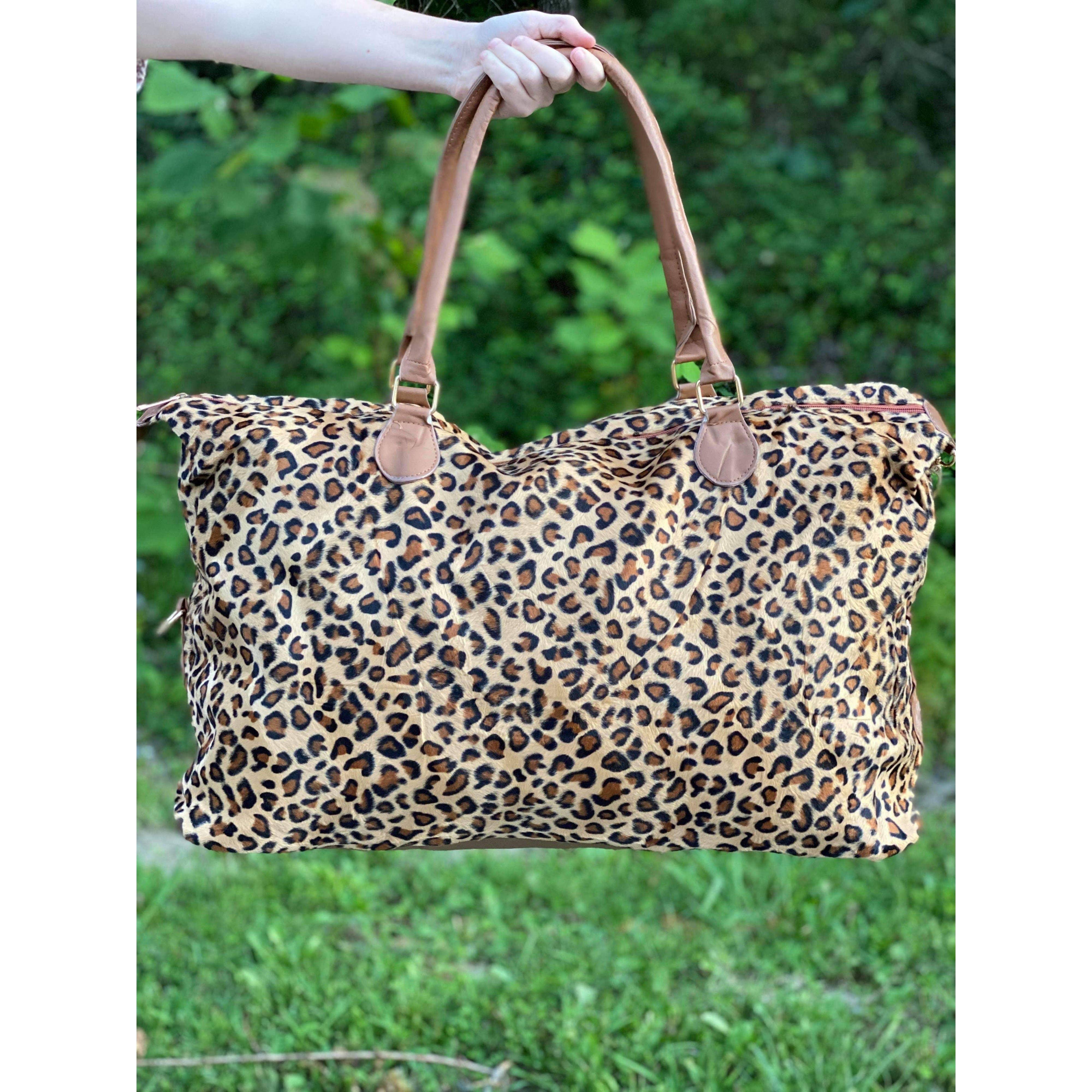 Leopard Weekender   Trada Marketplace