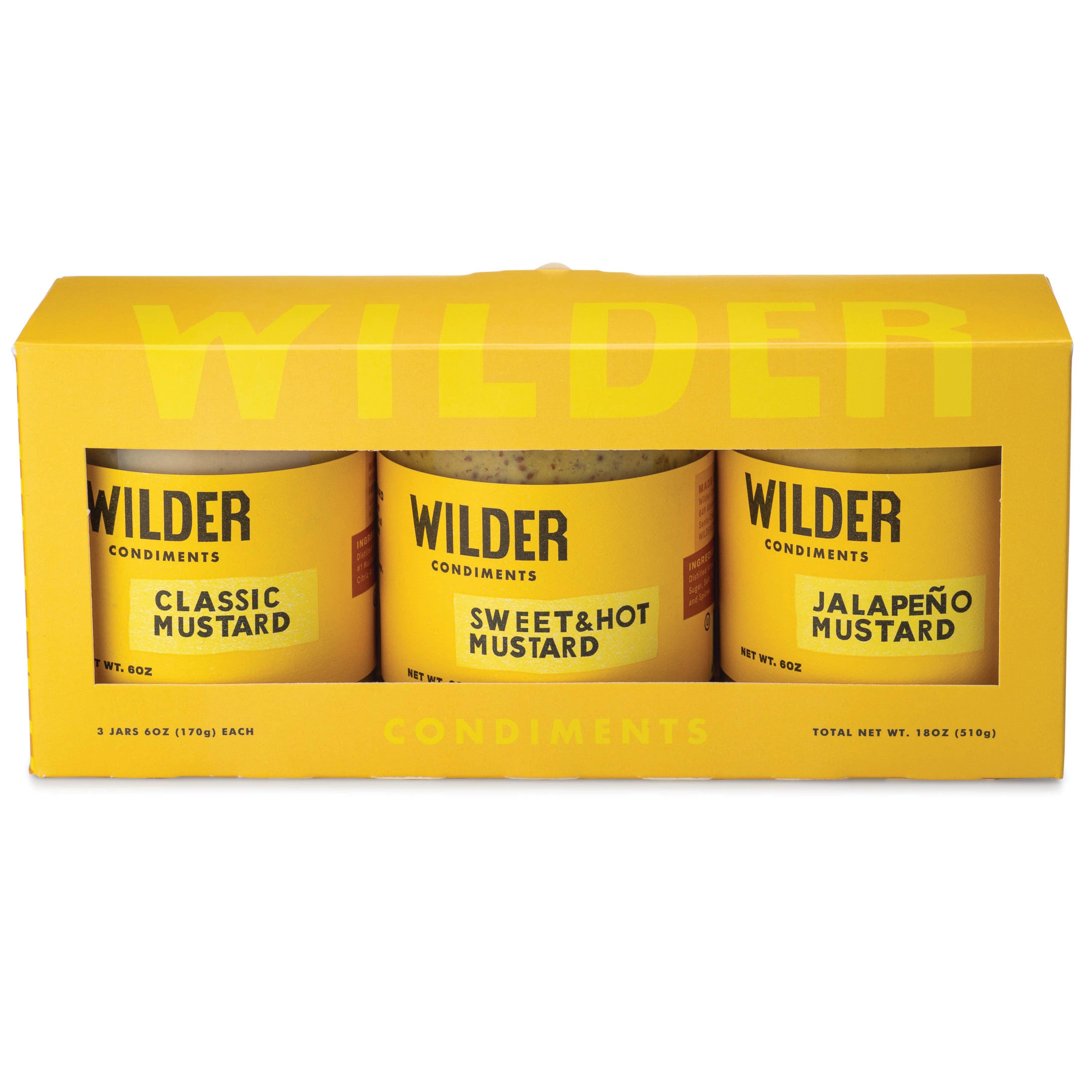 Mustard Trio | Trada Marketplace