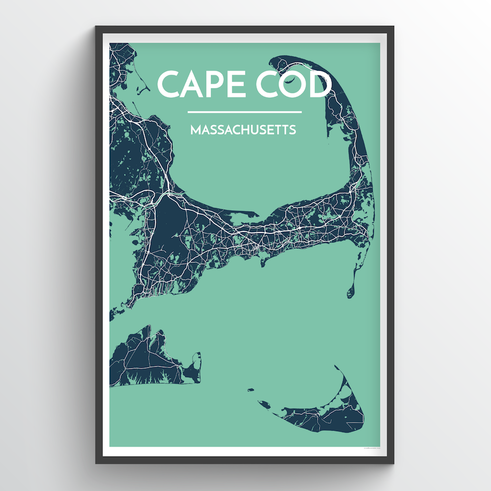 Cape Cod City Map | Trada Marketplace