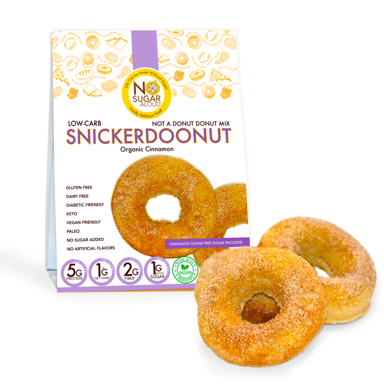 Low Carb Snikerdoonut Donut Mix   Trada Marketplace
