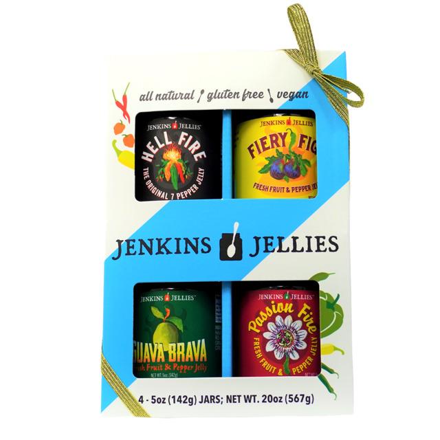 The Original 7-Pepper Jelly Gift Set (4/5 oz. jars), GOLD RIBBON   Trada Marketplace