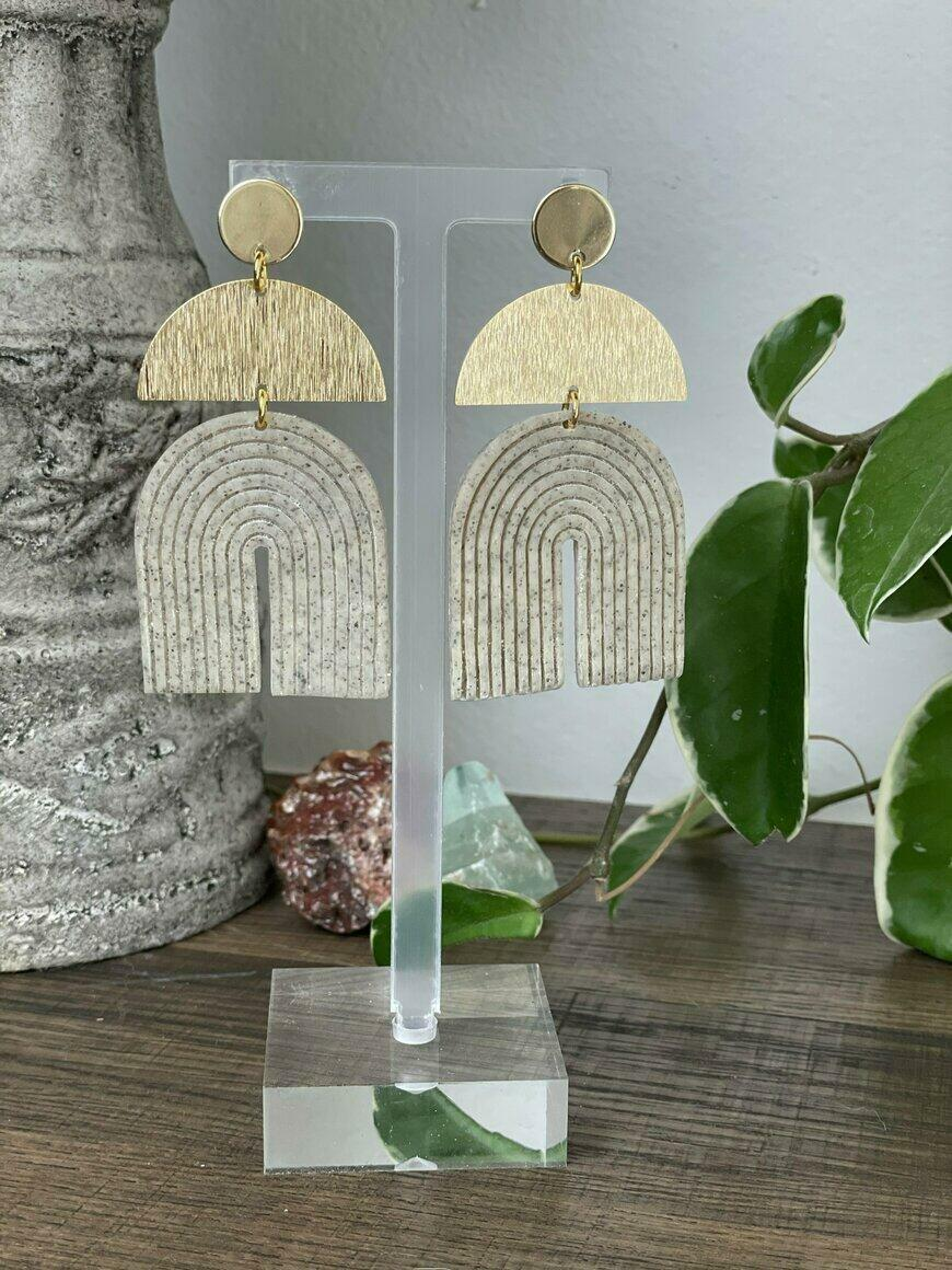 Goddess Statement Earrings   Trada Marketplace