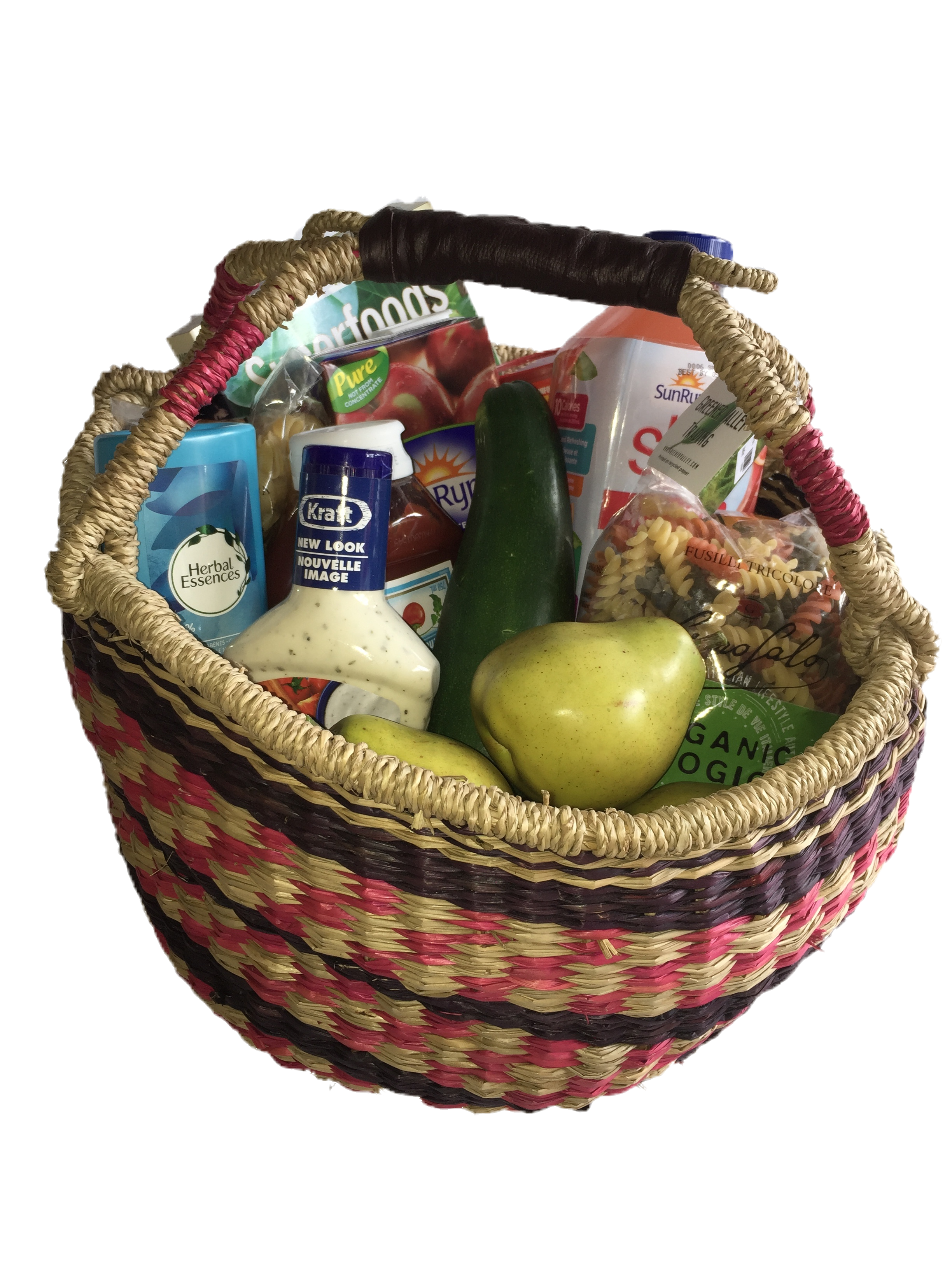 Seagrass Basket - Round | Trada Marketplace