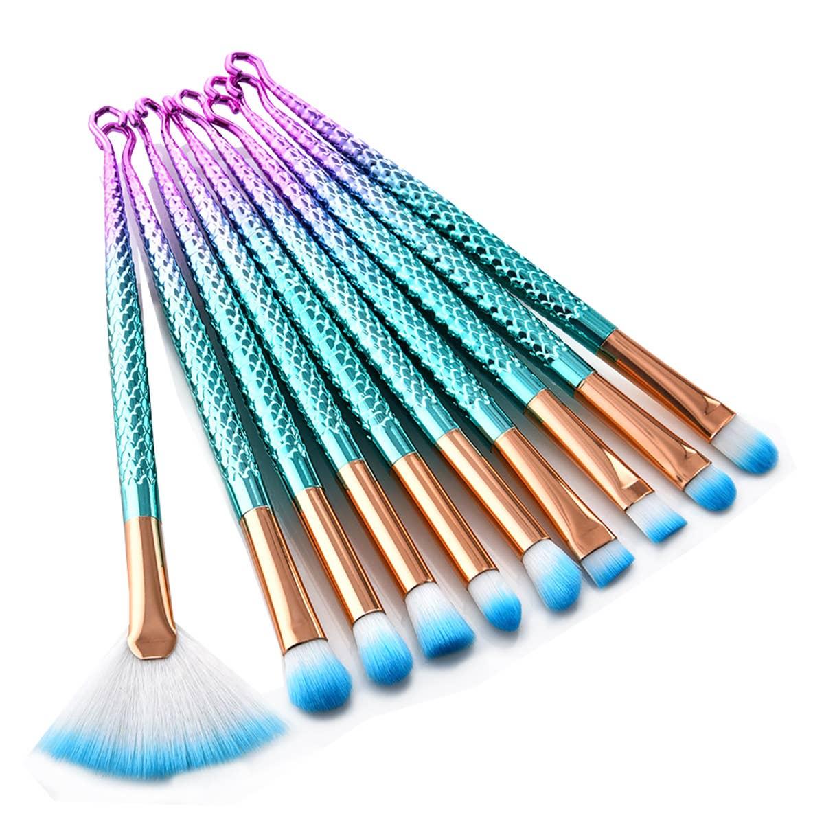 Mermaid Eyeshadow Makeup Brush Set   Trada Marketplace