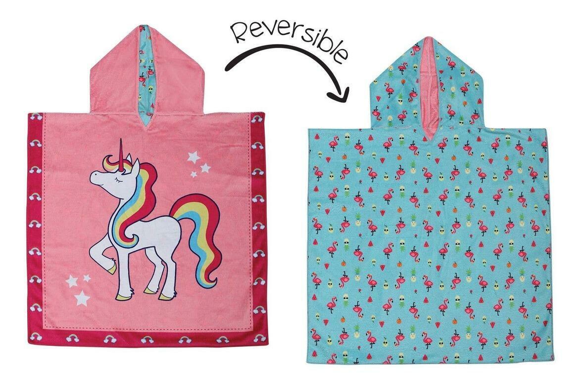 Kids UPF50+ Cover-Up - Unicorn/Tropical | Trada Marketplace