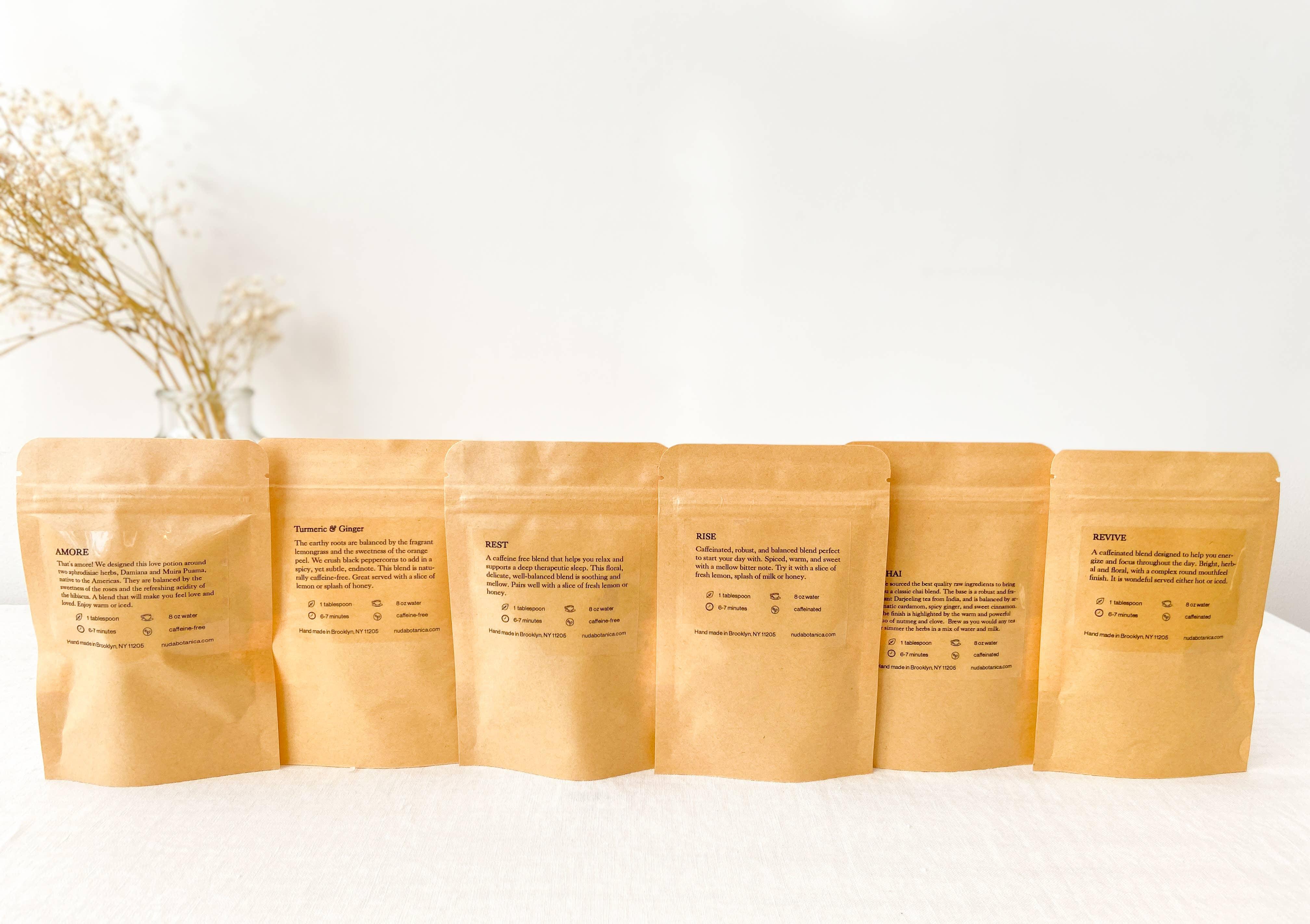 Loose leaf tea sampler - Herbal teas | Trada Marketplace
