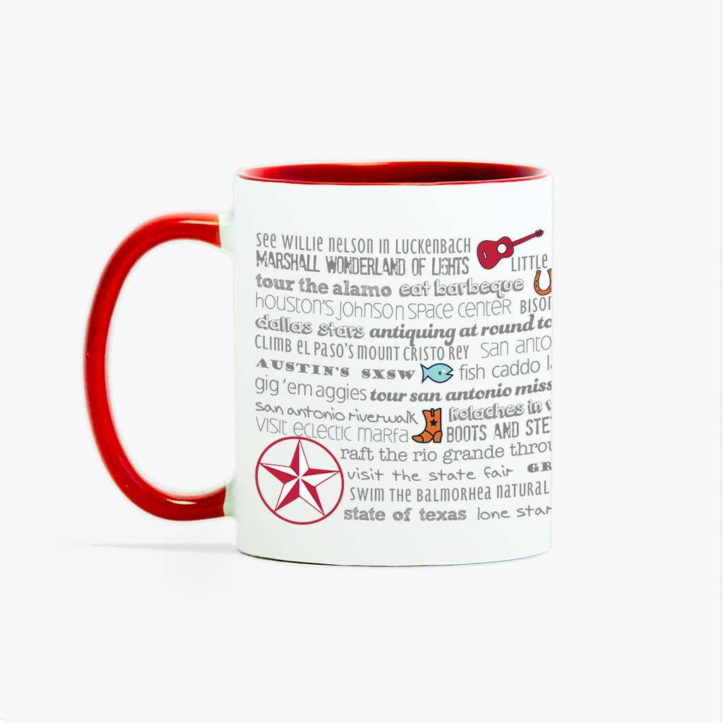 Mug - 11oz Your State Bucket List   Trada Marketplace