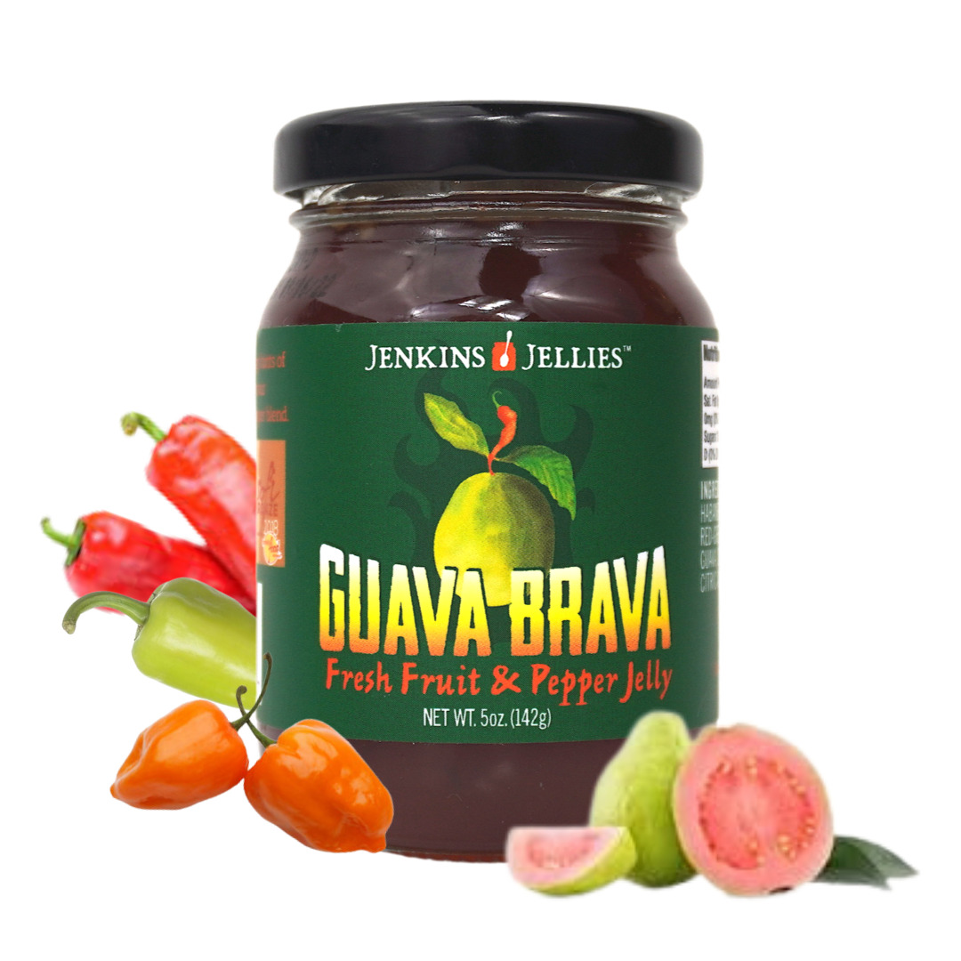 5 oz Guava Brava Pepper Jelly   Trada Marketplace