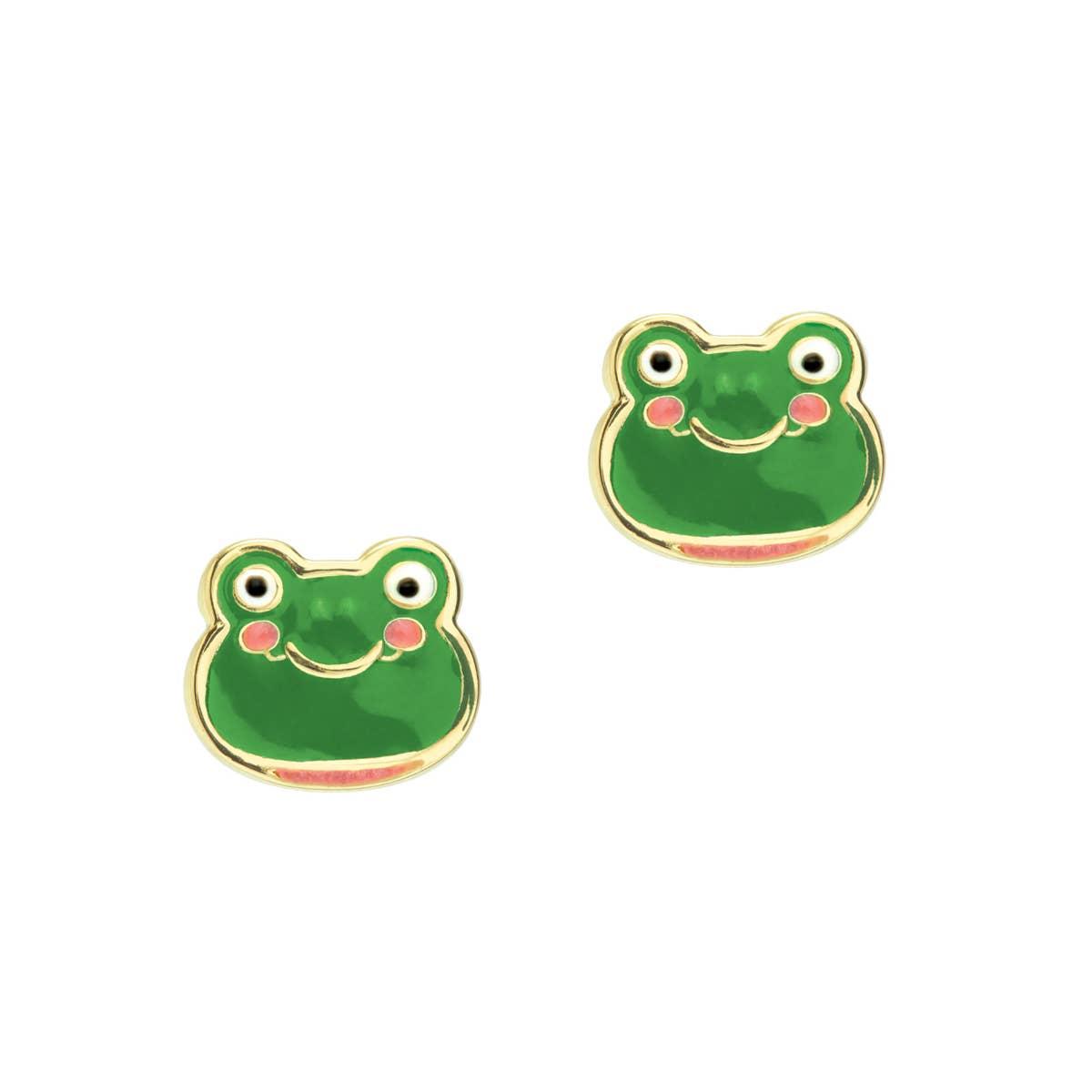 Fancy Frog Cutie Studs | Trada Marketplace