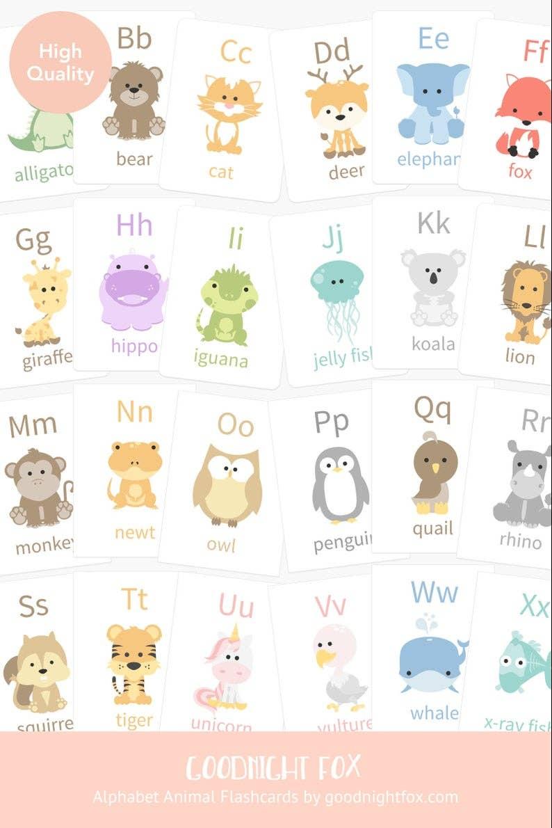 Alphabet Flashcards   Trada Marketplace