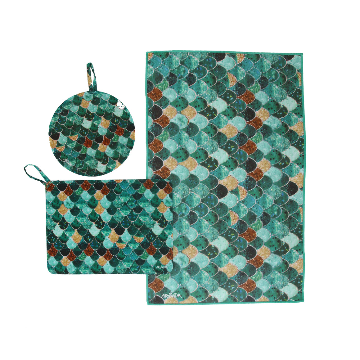 Trivet & Towel Set -  Monika Strigel - Really Mermaid | Trada Marketplace
