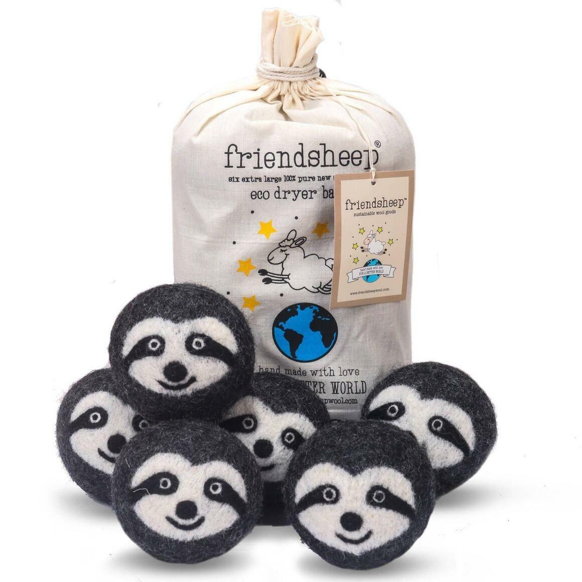 Sloth Squad Eco Dryer Balls   Trada Marketplace