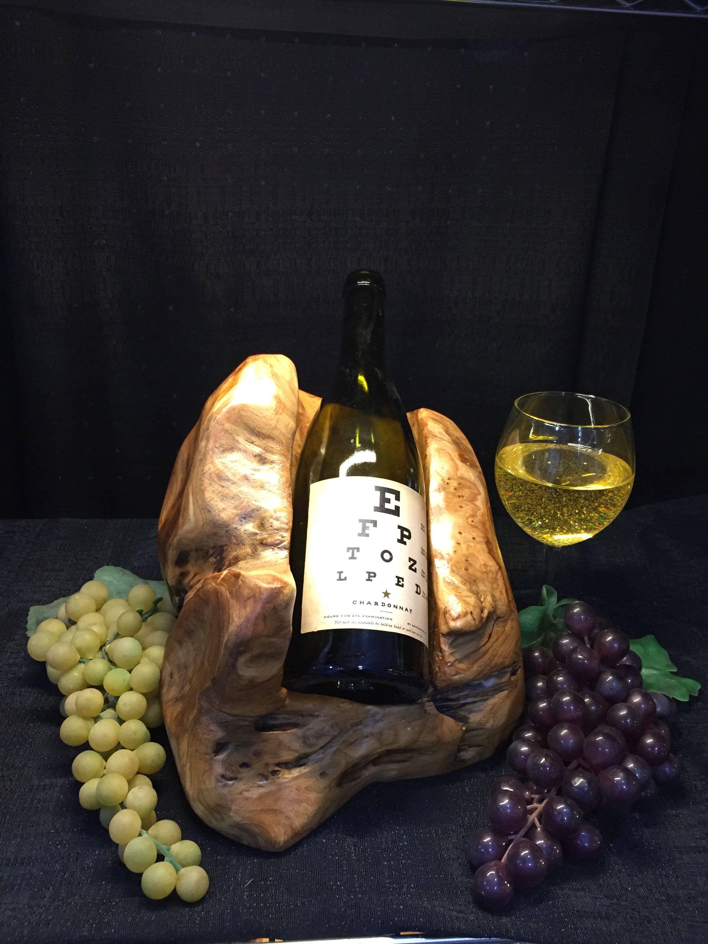 Wooden Wine Bottle Holder | Trada Marketplace