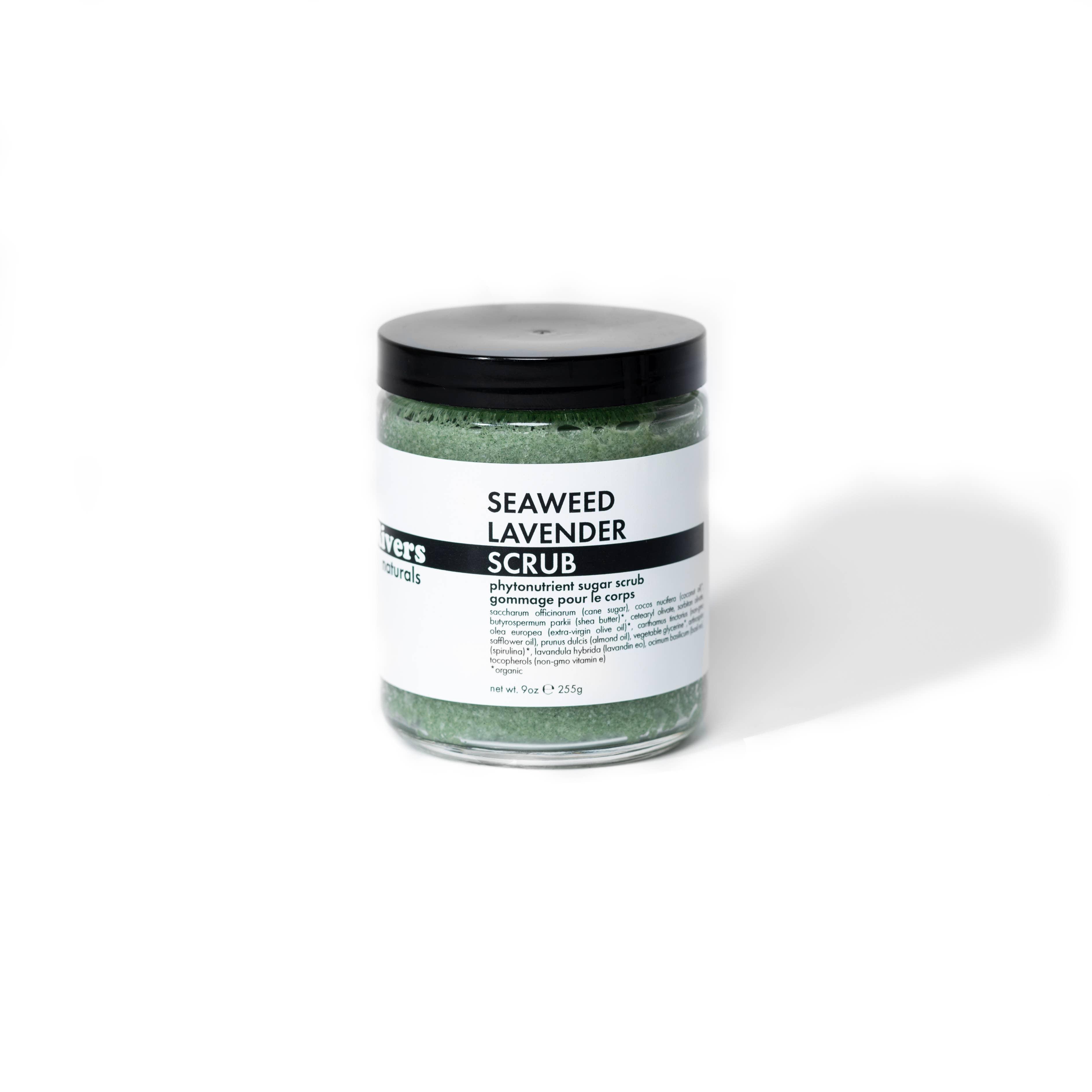 Seaweed Lavender Scrub 8oz | Trada Marketplace