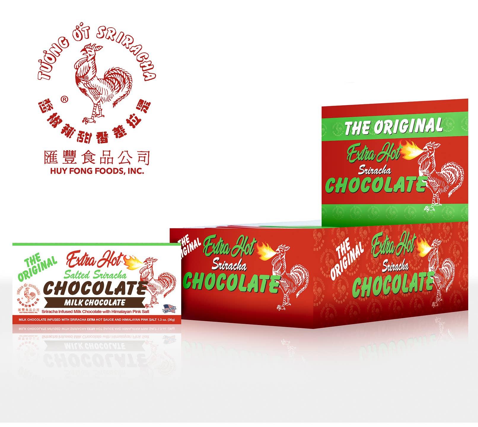 1.3 oz Extra Hot Milk Chocolate Bar   Trada Marketplace