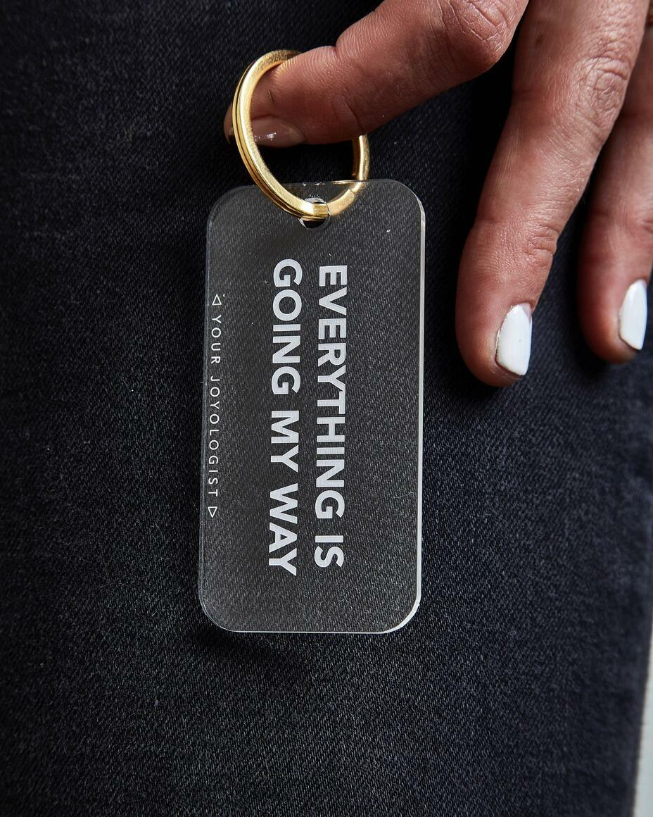 Everything is going my way. - keychain   Trada Marketplace