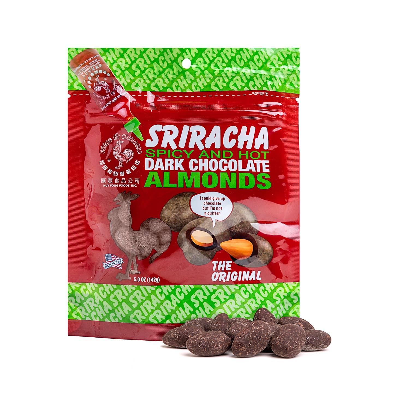 5 oz Bag Dk Sriracha Seasoned Covered Almonds   Trada Marketplace