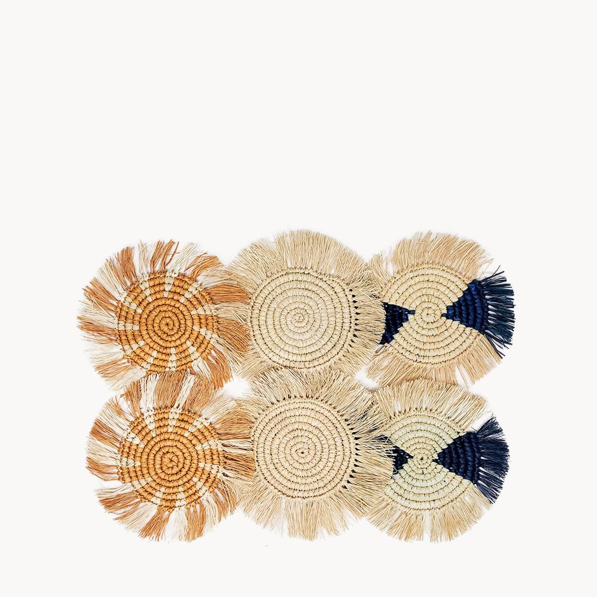Flor Coaster - Ocean | Trada Marketplace