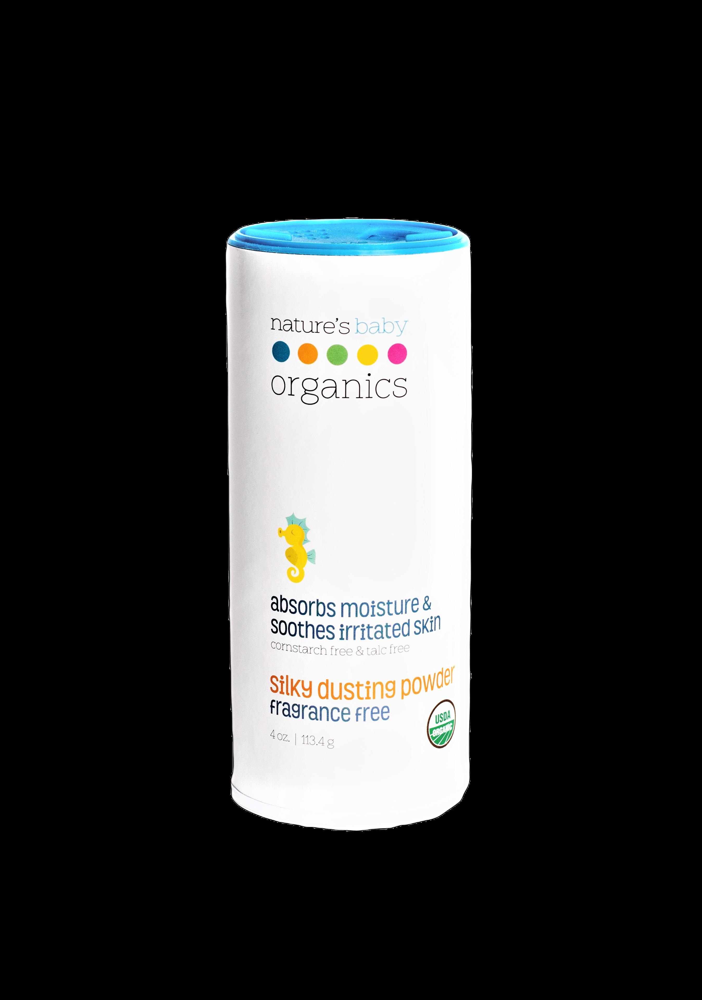 Organic Silky Dusting Powder Fragrance Free 4 oz | Trada Marketplace