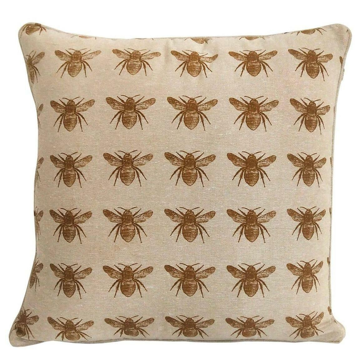 Honey Bee Print Mustard | Trada Marketplace