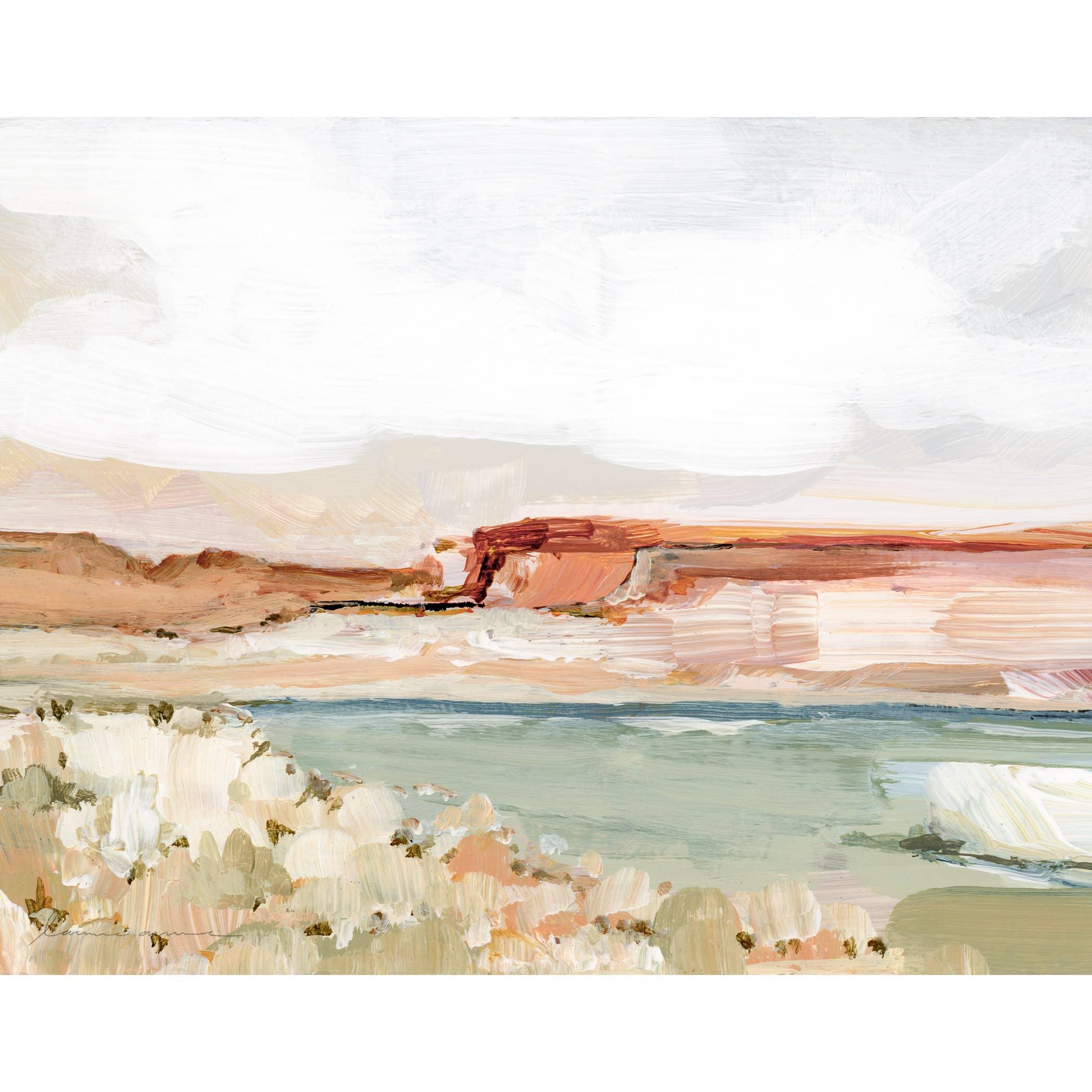 Vermillion Cliffs Horizontal Canvas Print   Trada Marketplace