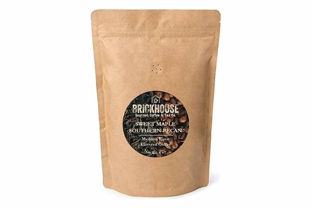 Sweet Maple Southern Pecan Flavored Coffee / 8 oz   Trada Marketplace