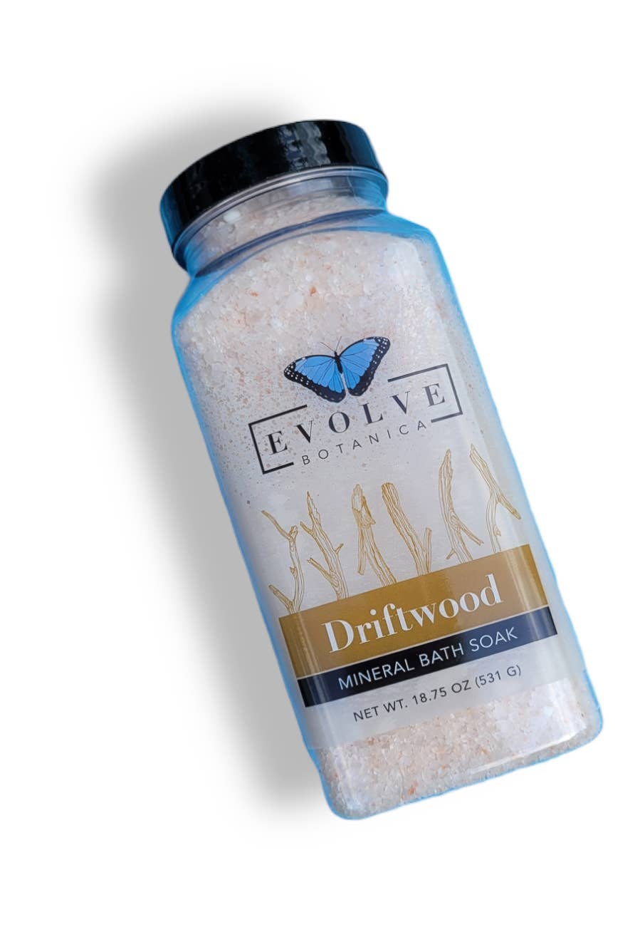 Evolve - Bath Salt / Mineral Soak - Driftwood | Trada Marketplace