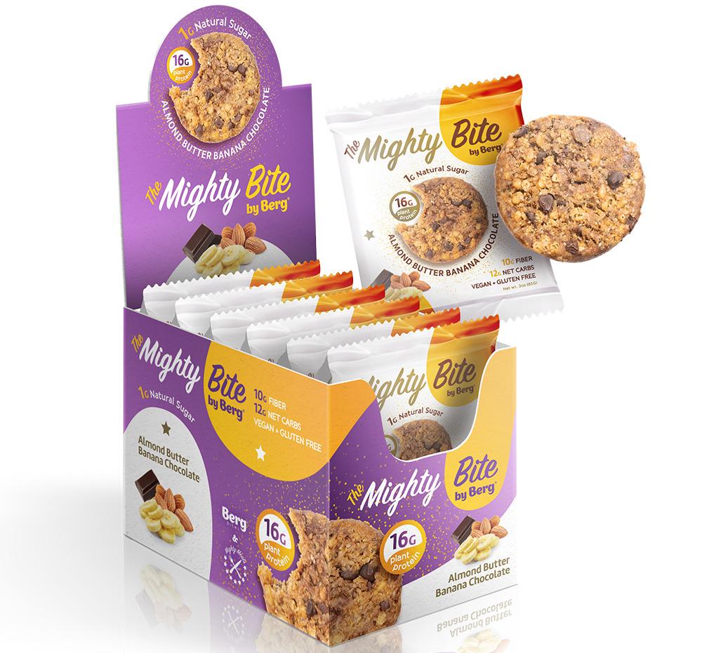 MIGHTY BITE - ALMOND BUTTER BANANA CHOCOLATE   Trada Marketplace