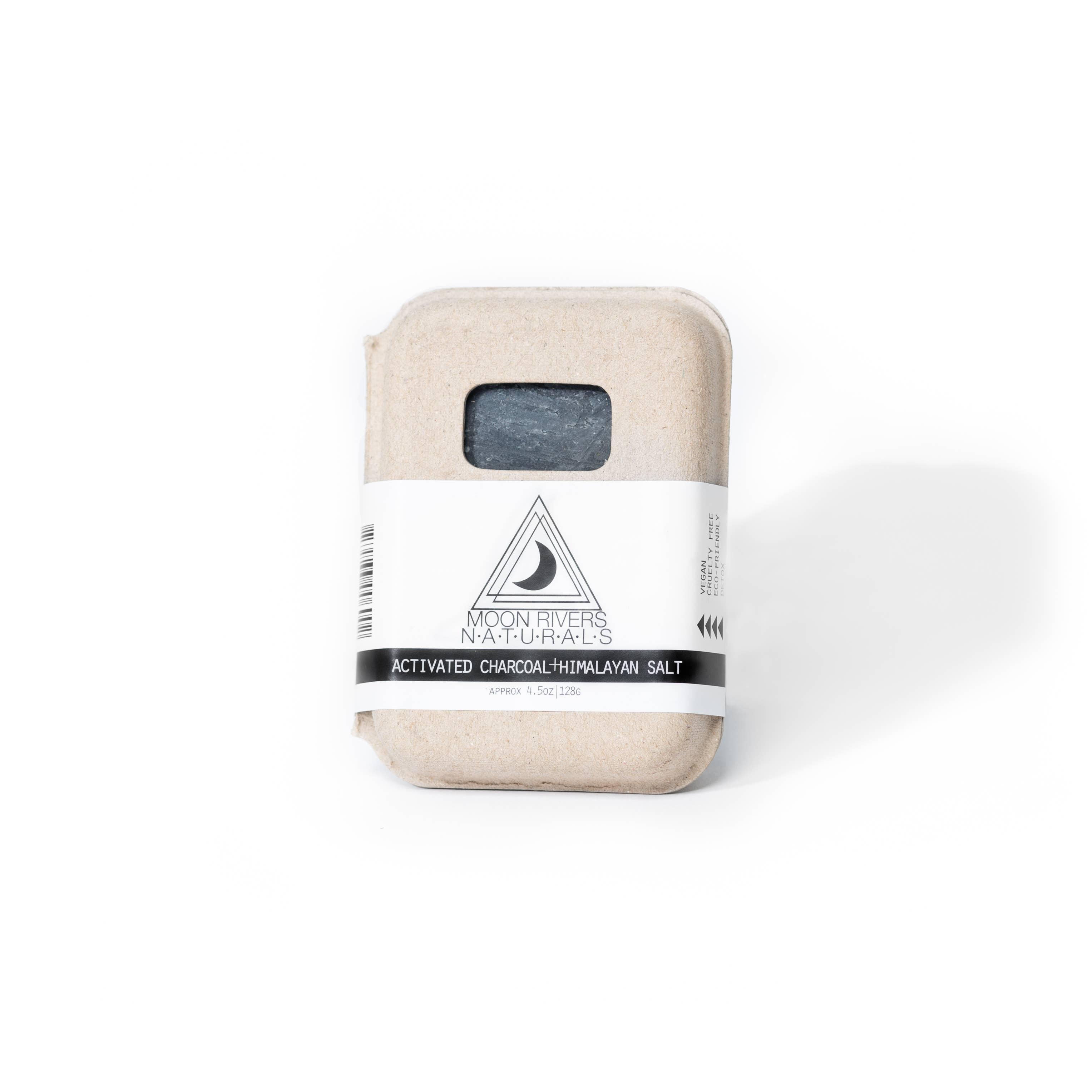 Activated Charcoal + Himalayan Pink Sea Salt Soap | Trada Marketplace