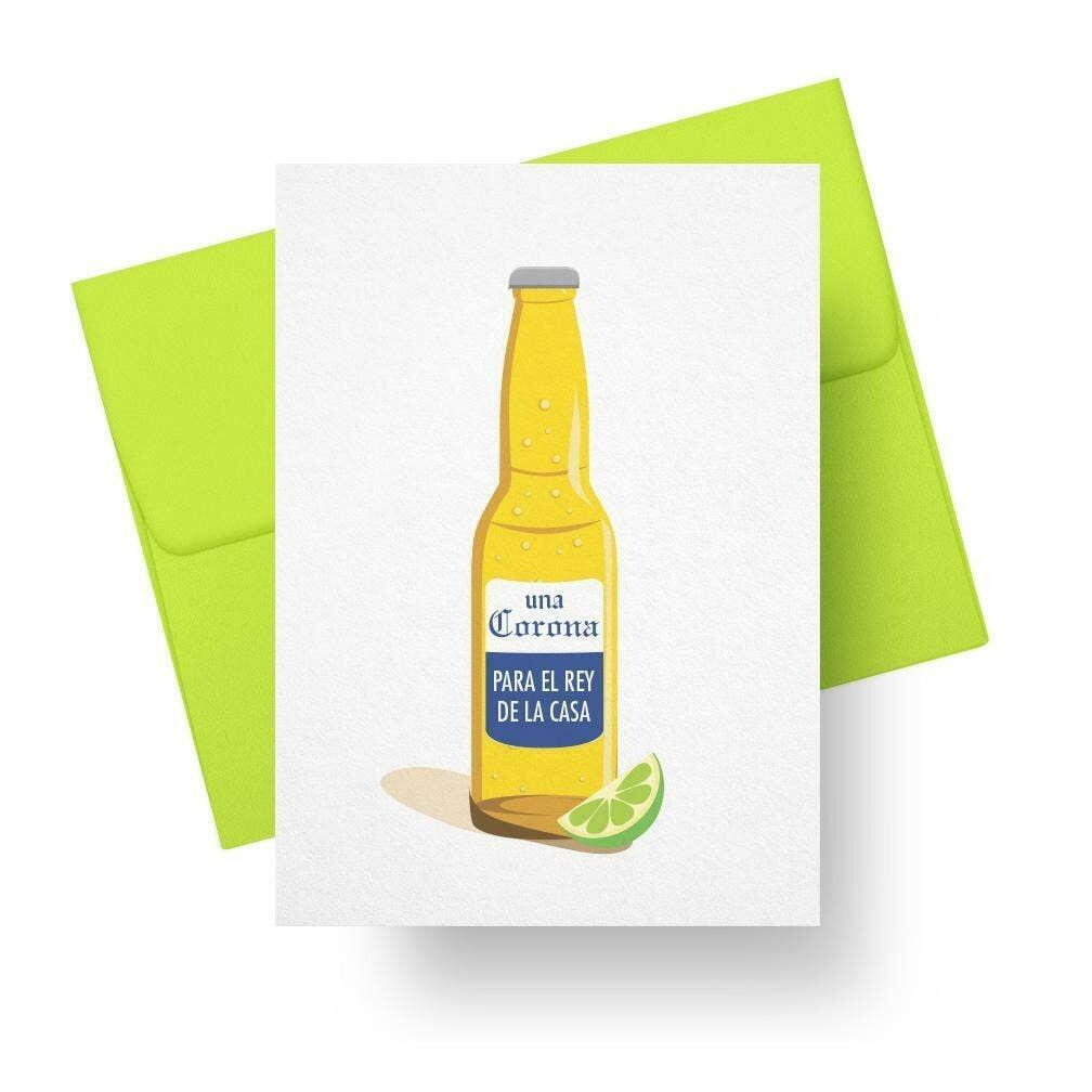 Corona Para El Rey - (Spanish Fathers Day Card)   Trada Marketplace