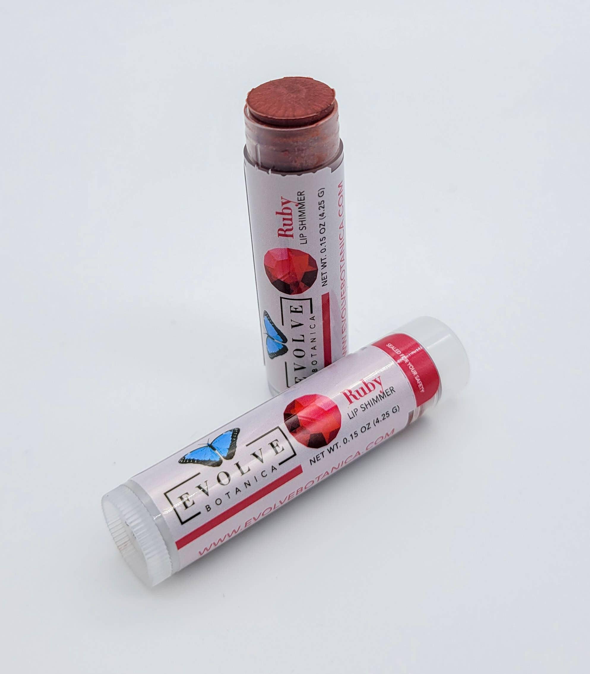 Evolve - Lip Balm - Natural Shimmer Tint - Ruby | Trada Marketplace