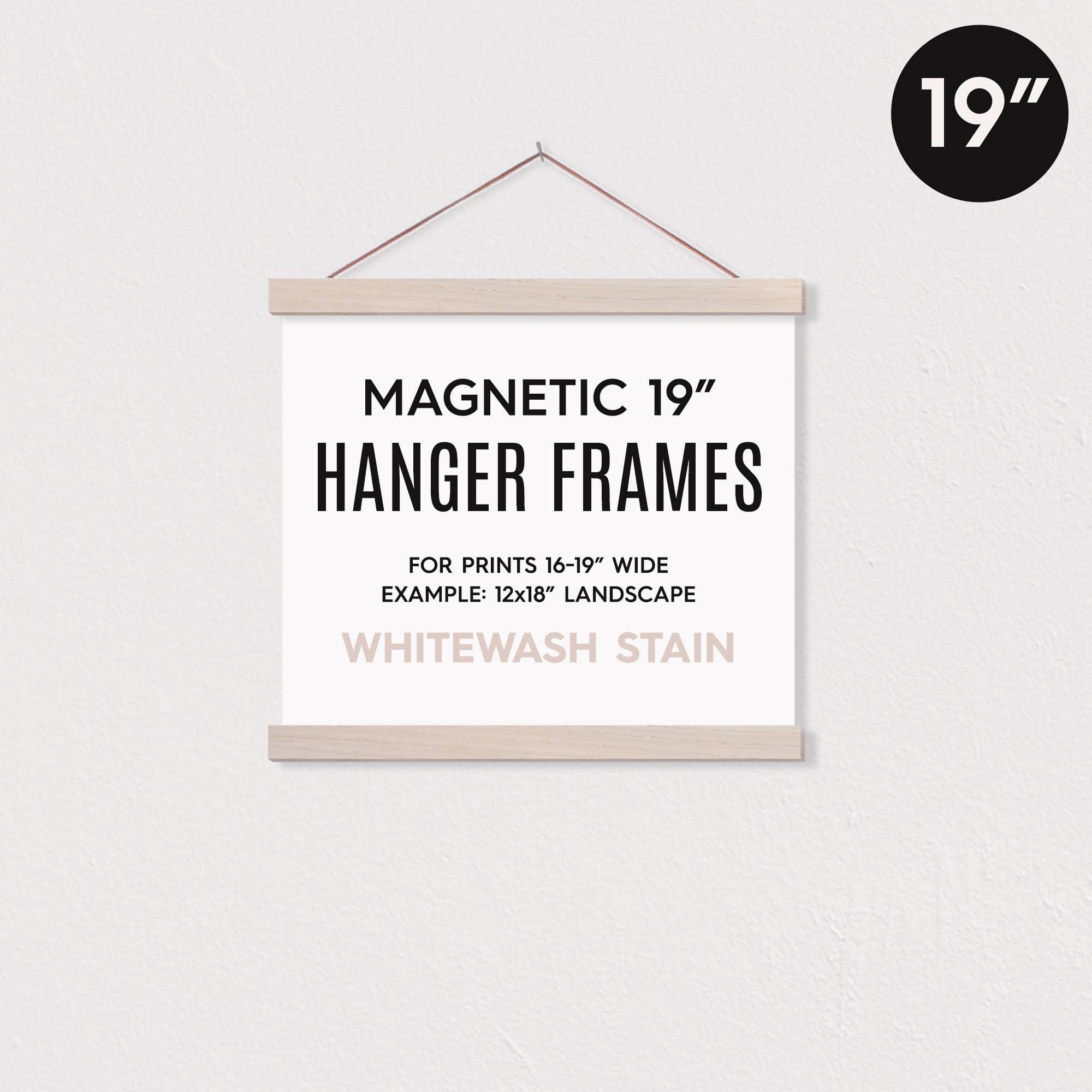 """19"""" MAGNETIC Poster Hanger Frame™ for 12x18"""" Landscape   Trada Marketplace"""