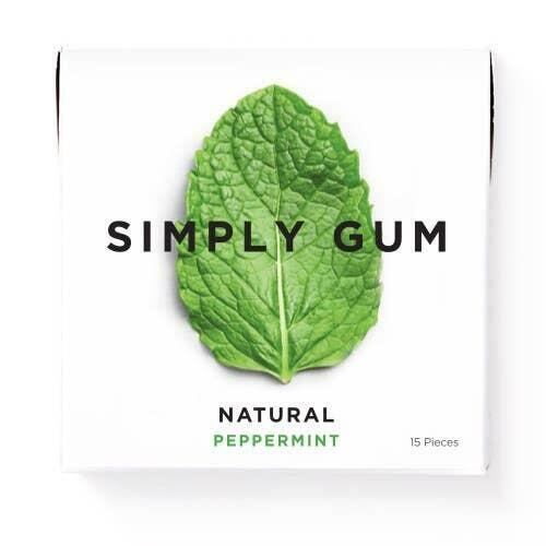 Peppermint Natural Chewing Gum | Trada Marketplace