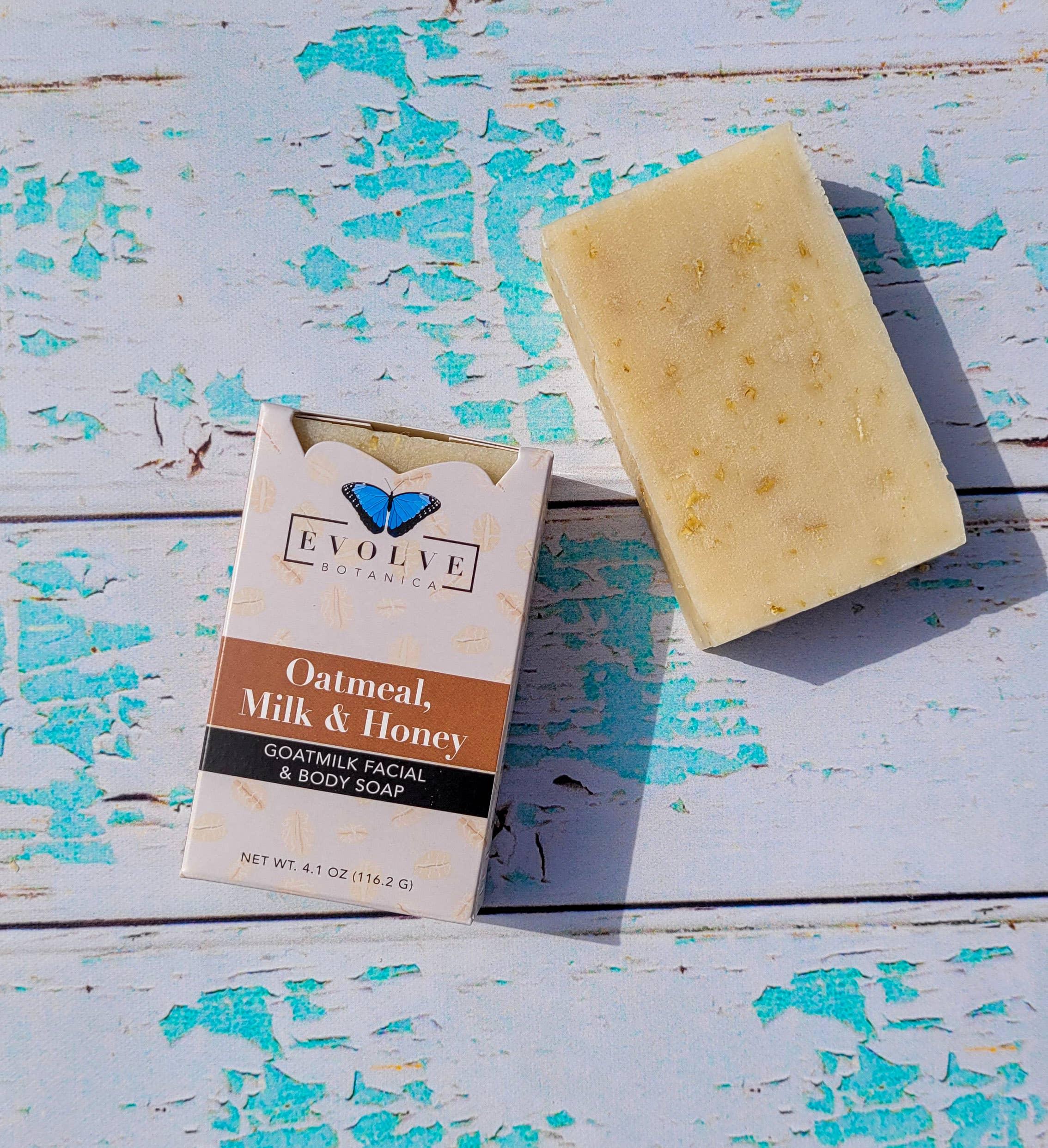 Evolve - Standard Soap - Oatmeal, Milk & Honey (Goatmilk) | Trada Marketplace