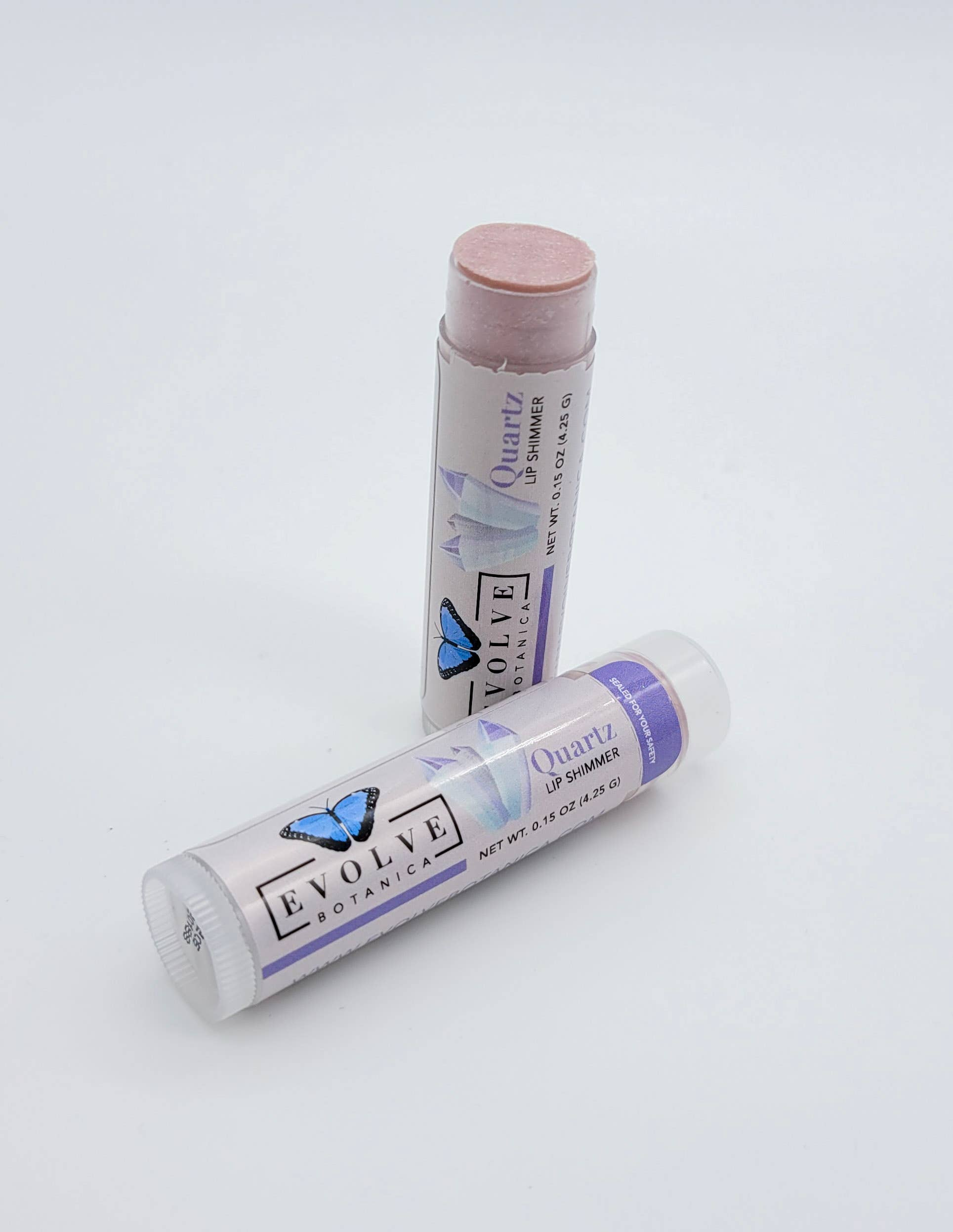 Evolve - Lip Balm - Natural Shimmer Tint - Quartz | Trada Marketplace