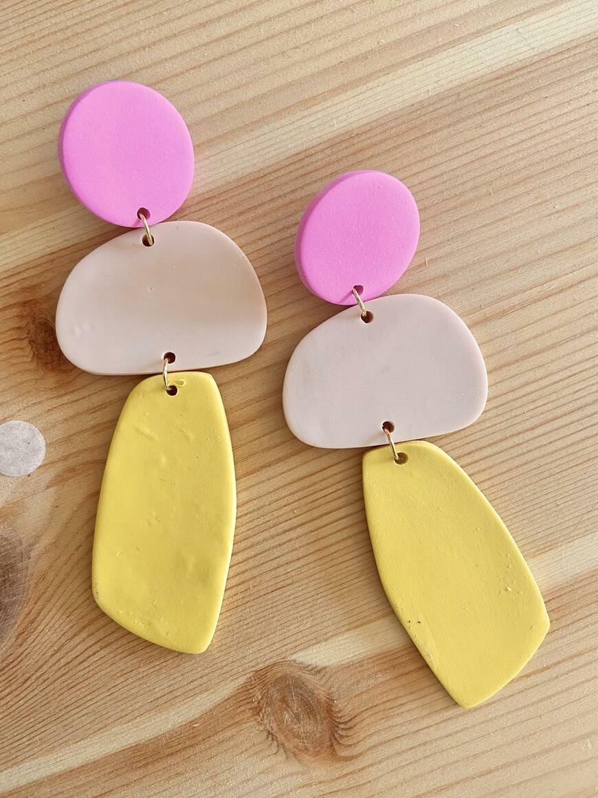 Sorbet Soiree Earrings | Trada Marketplace